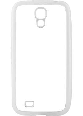 Θήκη Samsung S4 με Διάφανα Λαστιχένια Πλαϊνά