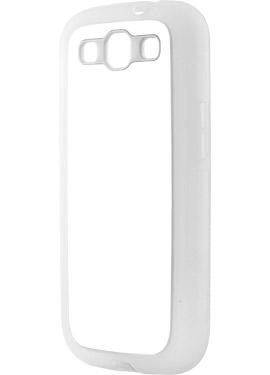 Θήκη Samsung S3 με Διάφανα Λαστιχένια Πλαϊνά
