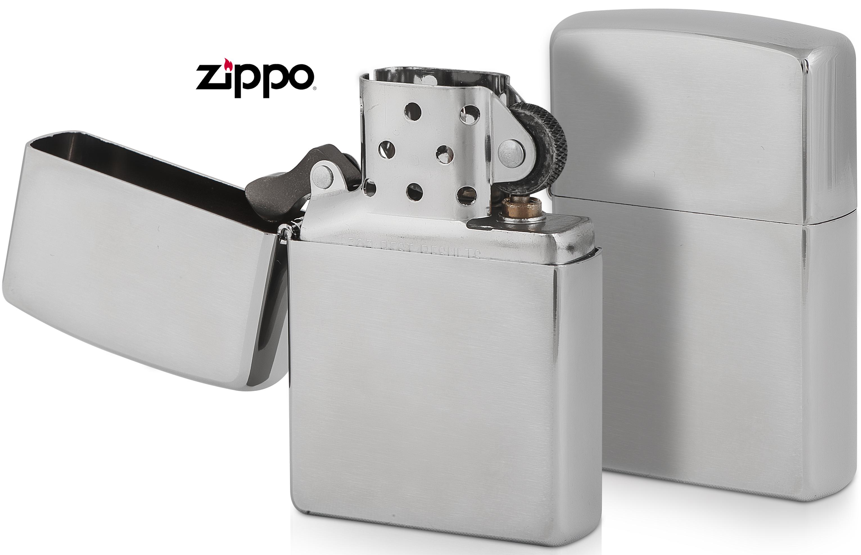 Αναπτήρας ZIPPO Ασημί Ματ