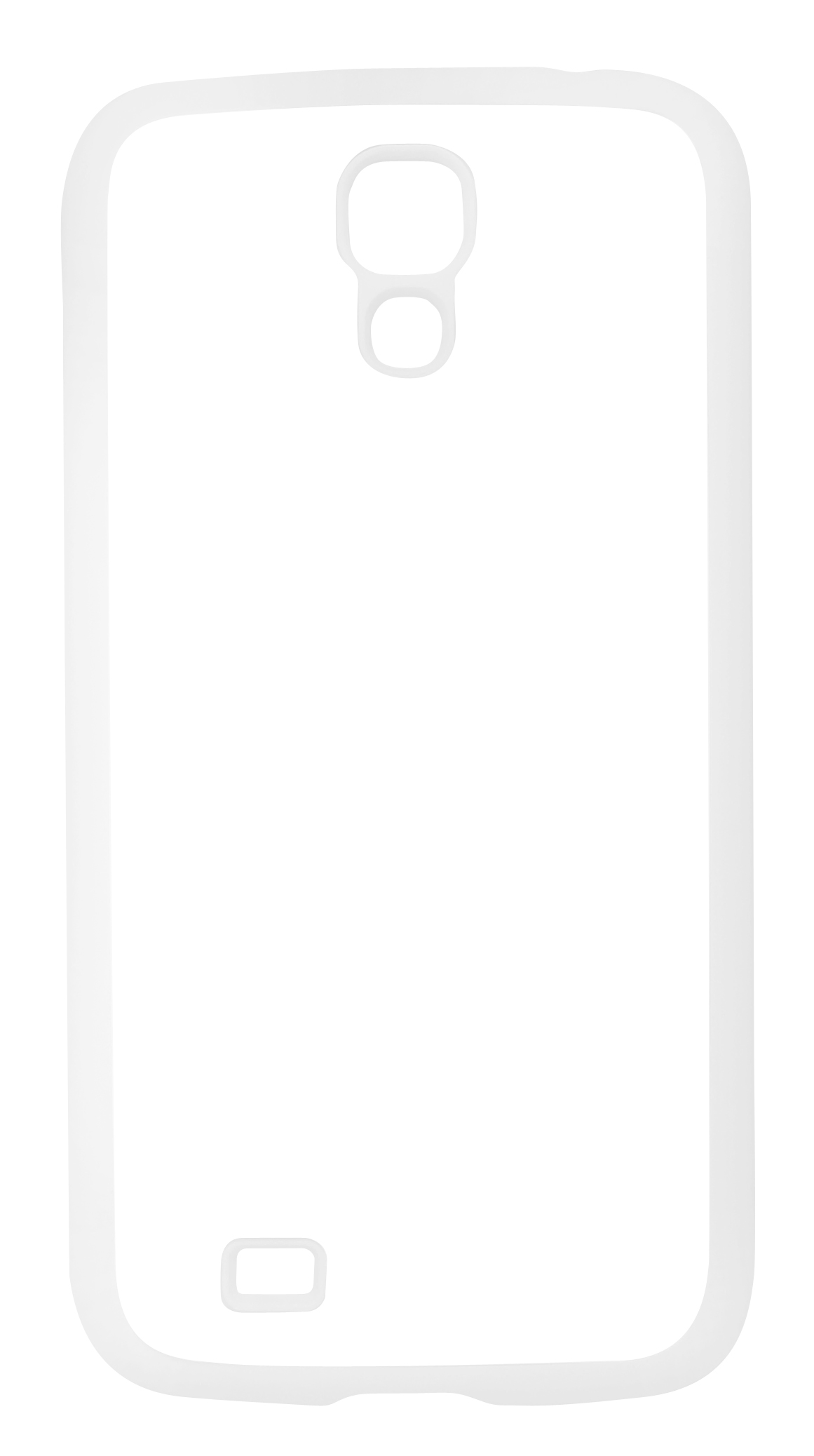 Samsung S4 θήκη με Λευκή επίστρωση γόμας