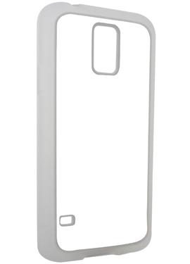 Θήκη Samsung S5 με Διάφανα Λαστιχένια Πλαϊνά
